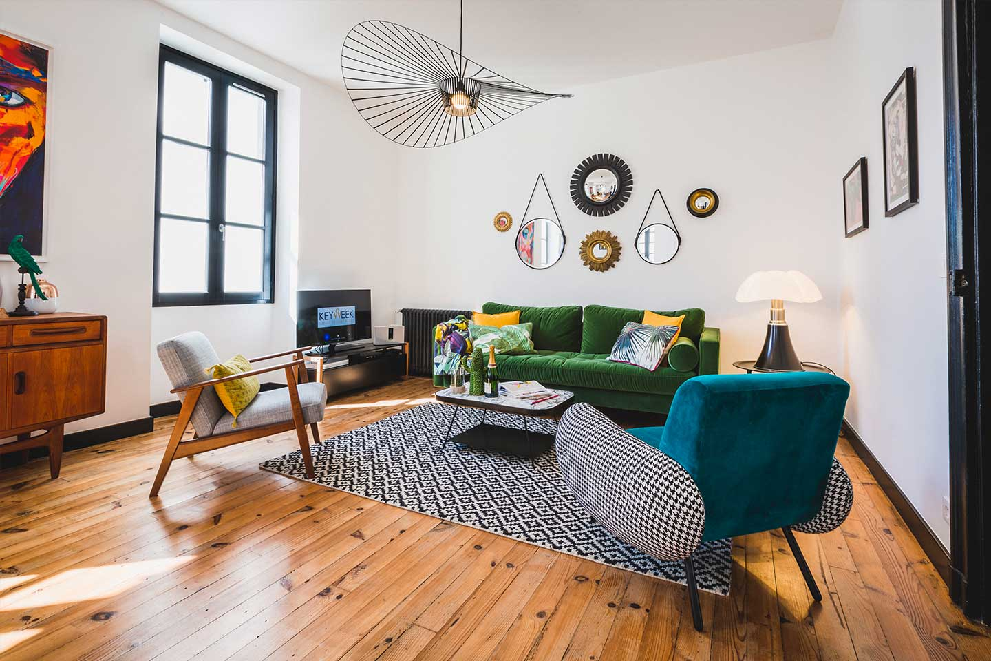 LONDON AVENUE Un superbe appartement Vintage en plein coeur de Biarritz