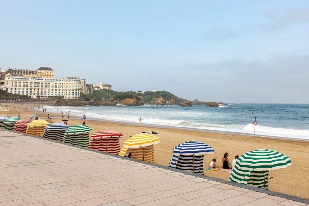 biarritz grande plage pays basque vacances