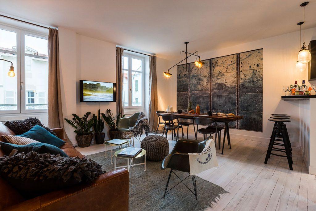 appartement atelier centre ville biarritz