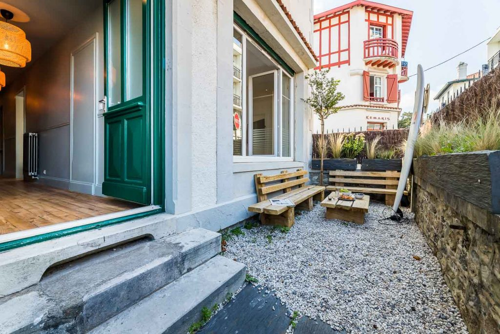 location de vacances biarritz appartement aloe terrasse