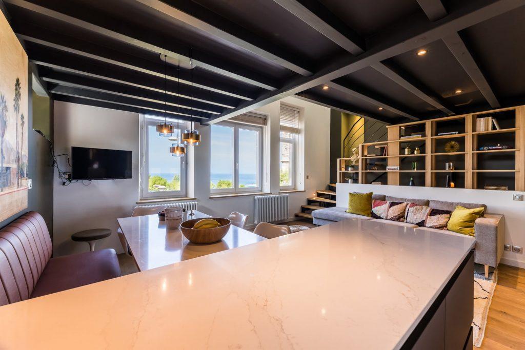 location de vacances biarritz keyweek appartement vue mer alma