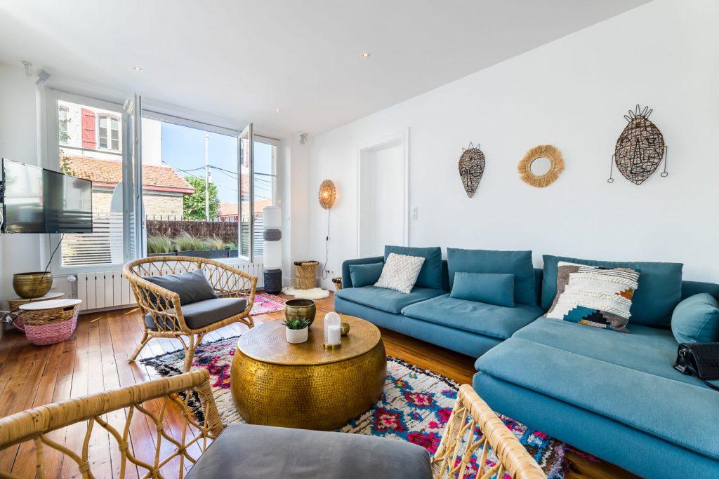 location de vacances biarritz keyweek appartement avec terrasse aloe