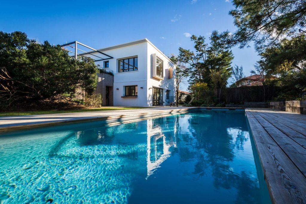 location vacances pays basque villa avec piscine paradise