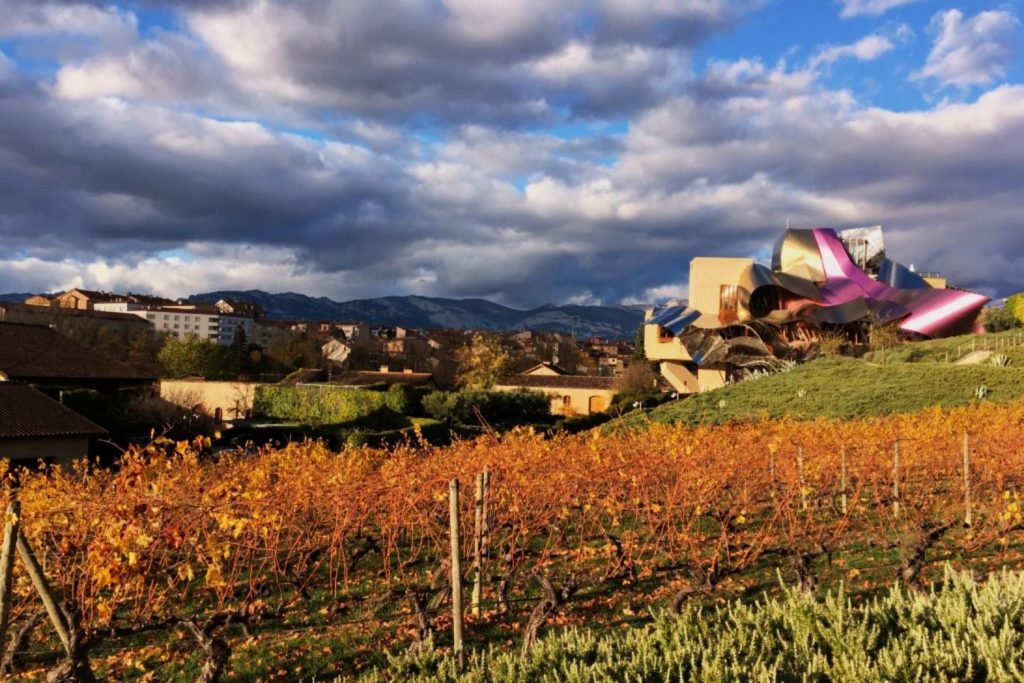 location vacances pays basque decouvrir la Rioja Espagne marques de riscal
